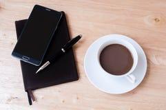 Pausa caffè dello scrittore Fotografie Stock