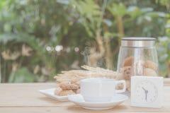 Pausa caffè di mattina Fotografie Stock Libere da Diritti