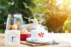 Pausa caffè di pomeriggio Immagine Stock