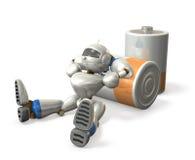 Pausa do robô Imagem de Stock Royalty Free