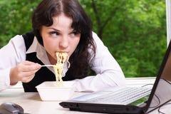 Pausa para o almoço imagem de stock royalty free