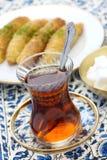 Pausa tè turca Immagine Stock