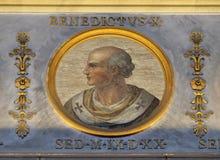 Pausantipope Benedict X Stock Foto's
