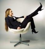 Pausas fêmeas do gerente Fotografia de Stock