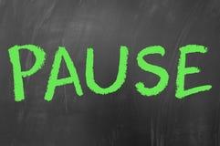 pause photo stock