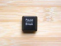 Free Pause Break Key Royalty Free Stock Photography - 183599127