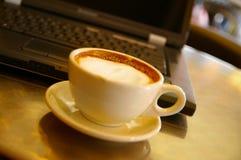 Pause-café Images libres de droits