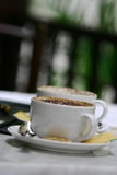 Pause-café Photographie stock