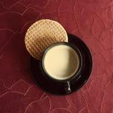 Pause-café avec le biscuit photos libres de droits