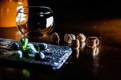 Pause café chaude et délicieuse Image libre de droits