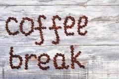 Pause-café de grain image libre de droits