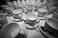 Pause-café des tasses de café photographie stock libre de droits