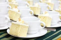 Pause-café et gâteau photo stock