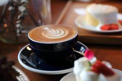 Pause-caf? de cappuccino photo stock