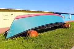 Pause de bateau Photo stock