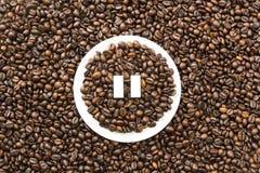 Pause de café images stock