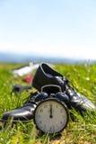 Pause ou vacances de midi de concept Photos libres de droits