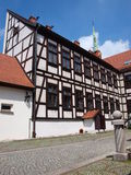 Pauselijke Faculteit van Theologie, Wroclaw, Polen stock afbeeldingen