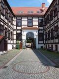 Pauselijke Faculteit van Theologie, Wroclaw, Polen royalty-vrije stock afbeeldingen