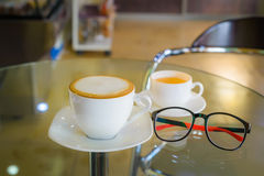 Pauses-café Photo stock