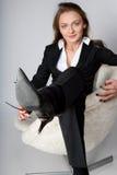 Pauses femelles de gestionnaire Photographie stock libre de droits