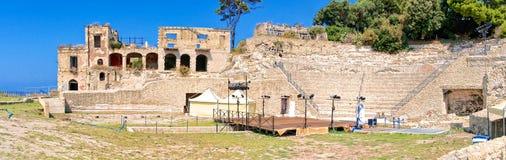 Pausylipon archeologic park in Naples Stock Photography