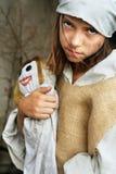 Pauvre enfant Image libre de droits