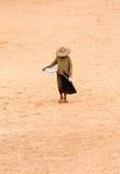 Pauvre femme Photos libres de droits