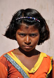 Pauvre fille indienne Photographie stock