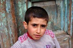Pauvre garçon Images libres de droits