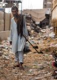 Pauvre homme Photo libre de droits