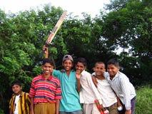 Pauvres enfants Photos libres de droits
