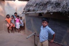 Pauvres enfants en Inde Photo libre de droits