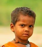 pauvres indiens d'enfant Photographie stock libre de droits