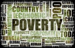 pauvreté Photos stock