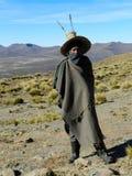 Pauvreté - berger de Basotho photo libre de droits