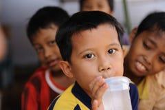 pauvreté d'enfants Photographie stock libre de droits