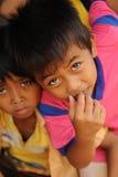 pauvreté d'enfants Image libre de droits