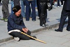 Pauvreté en Chine Photographie stock libre de droits