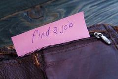 Pauvreté, le chômage, concept de faillite Vieux leat vide minable photos libres de droits