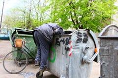 Pauvreté urbaine Photographie stock