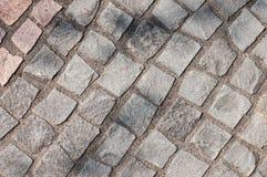 Pavés ronds gris Images libres de droits