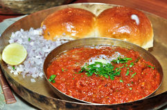 Pav Bhaji Royalty Free Stock Photos