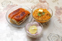 Pav bhaji Royalty Free Stock Photography