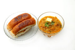 Pav bhaji Royalty Free Stock Images