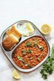 Pav bhaji Masala Indian street food Royalty Free Stock Image