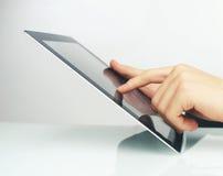 Pavé tactile à disposition Image stock