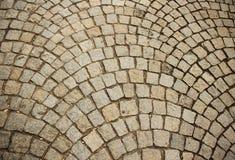 Pavage en pierre Photos libres de droits