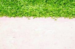 Pavage et pelouse Photos libres de droits