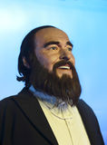 Pavarotti's wax figure Royalty Free Stock Photography
